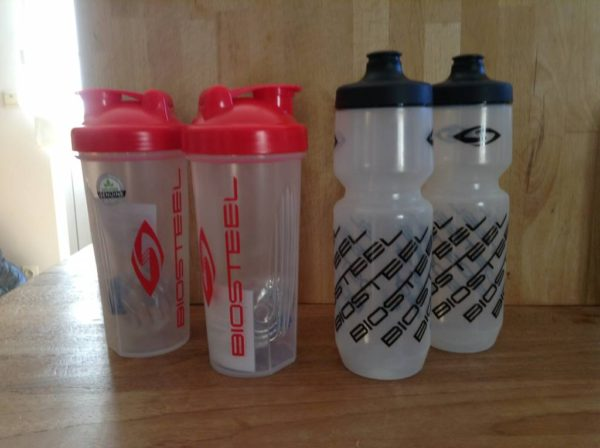 Biosteel shaker / water bottleneck