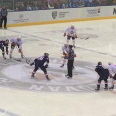 COACH1NG TE GAST BIJ KHL WEDSTRIJD IN BRATISLAVA