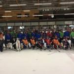 Grote Teamfoto Ijshockey