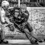 Ijshockey Zwart Wit