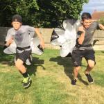 Rennen met Parachute